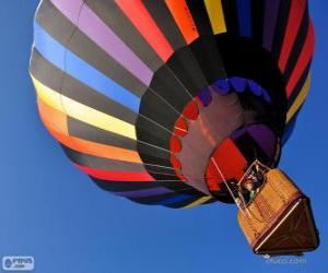 Puzle Balão voando
