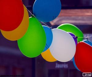 Puzle Balões para festa