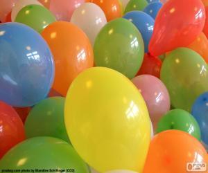 Puzle Balões para uma festa