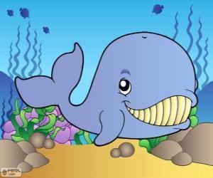Puzle Baleia a sorrir