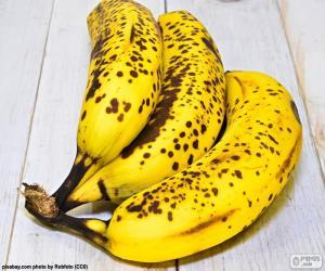 Puzle Bananas maduras