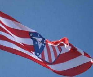 Puzle Bandeira Atlético de Madrid