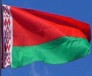 Puzle Bandeira da Bielorrússia
