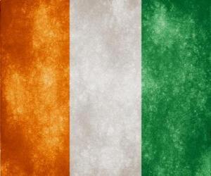 Puzle Bandeira da Costa do Marfim