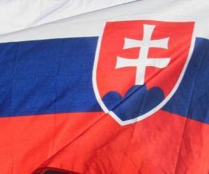 Puzle Bandeira da Eslováquia