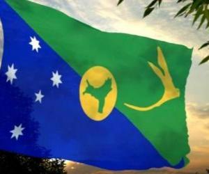 Puzle Bandeira da Ilha Christmas