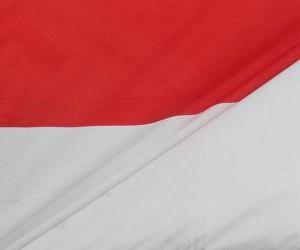 Puzle Bandeira da Indonésia
