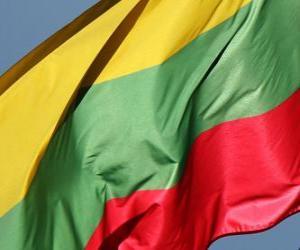 Puzle Bandeira da Lituânia