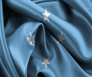 Puzle Bandeira da Micronésia