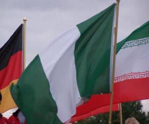 Puzle Bandeira da Nigéria