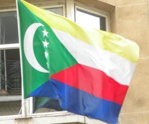 Puzle Bandeira das Comores