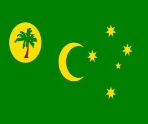 Puzle Bandeira das Ilhas Cocos