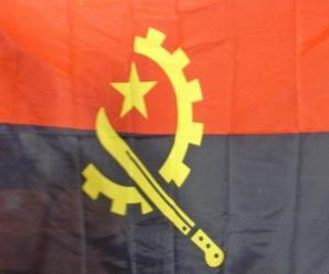 Puzle Bandeira de Angola
