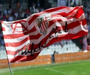 Puzle Bandeira de Athletic Club - Bilbao -