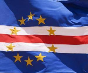 Puzle Bandeira de Cabo Verde