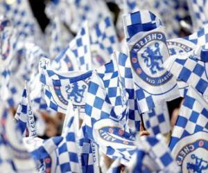Puzle Bandeira de Chelsea F.C.