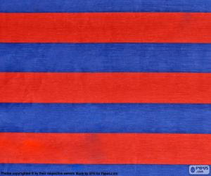 Puzle Bandeira de F. C. Barcelona