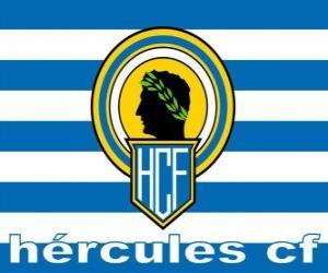 Puzle Bandeira de Hércules Club de Fútbol