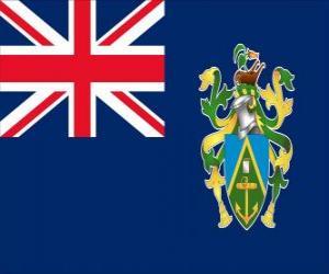 Puzle Bandeira de Ilhas Pitcairn