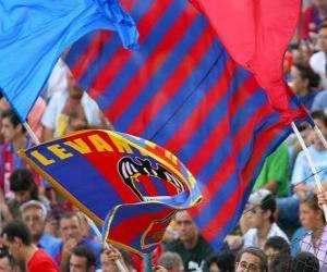 Puzle Bandeira de Levante Unión Deportiva