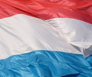Puzle Bandeira de Luxemburgo