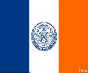 Puzle Bandeira de Nova Iorque