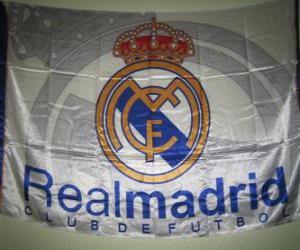 Puzle Bandeira de Real Madrid