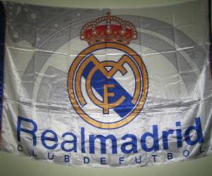Puzle Bandeira de Real Madrid