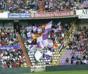 Puzle Bandeira de Real Valladolid C. F.