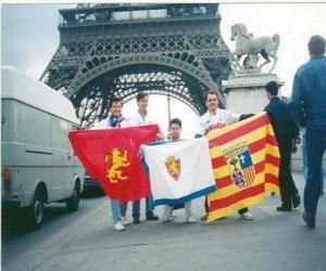 Puzle Bandeira de Real Zaragoza