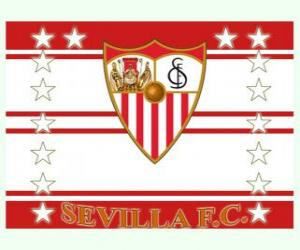 Puzle Bandeira de Sevilla FC