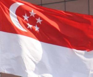 Puzle Bandeira de Singapura