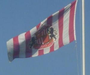 Puzle Bandeira de Sunderland A.F.C.