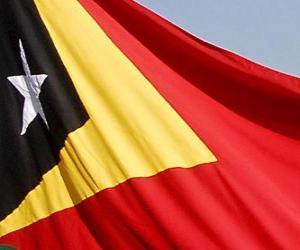 Puzle Bandeira de Timor-Leste