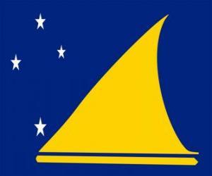 Puzle Bandeira de Toquelau