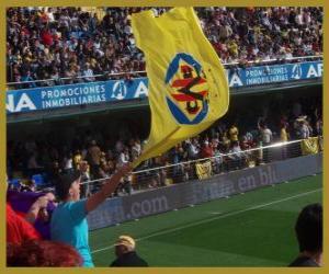 Puzle Bandeira de Villarreal C.F.