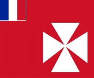 Puzle Bandeira de Wallis e Futuna