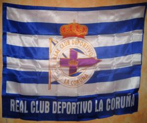 Puzle Bandeira Deportivo de La Coruña