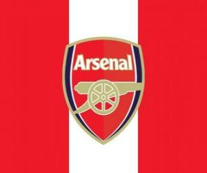 Puzle Bandeira do Arsenal FC