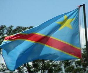 Puzle Bandeira do Congo