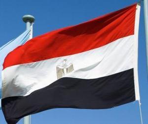 Puzle Bandeira do Egito