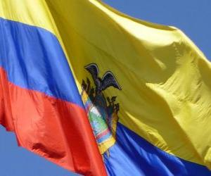 Puzle Bandeira do Equador