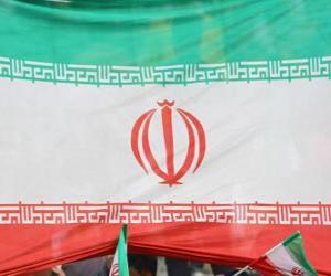Puzle Bandeira do Irão