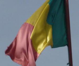 Puzle Bandeira do Mali