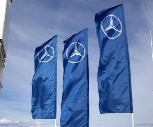 Puzle Bandeira do Mercedes GP