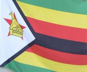 Puzle Bandeira do Zimbabwe