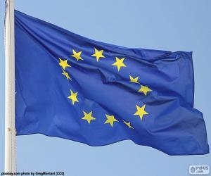 Puzle Bandeira europeia