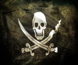 Puzle Bandeira pirata