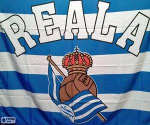 Puzle Bandeira Real Sociedad