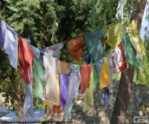 Puzle Bandeiras de oração